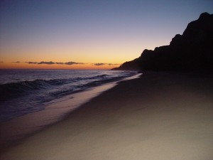 Kalalau Beach at Sunrise
